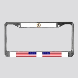 Bigfoot Squatchin License Plate Frame