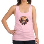 TakeOff3-2dogs-2cats Racerback Tank Top