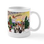 TakeOff3-2dogs-2cats Mug
