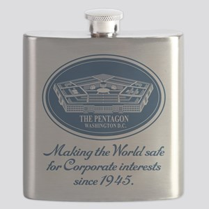 The Pentagon Flask