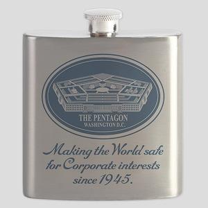 The Pentagon Flask