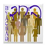 B'Yachad Diversity Tile Coaster