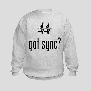Synchronized Swimming Kids Sweatshirt
