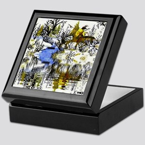 Winter Warrior Reflection Keepsake Box