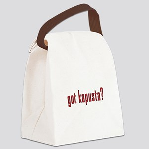 got kapusta? Canvas Lunch Bag