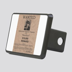 Al Capone Wanted Poster Rectangular Hitch Cover