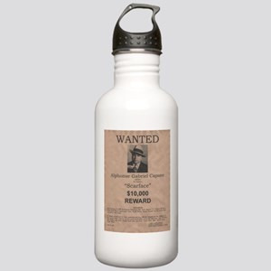 Al Capone Wanted Poster Stainless Water Bottle 1.0
