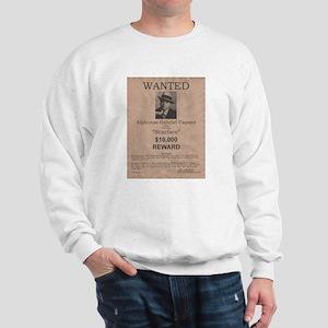 Al Capone Wanted Poster Sweatshirt