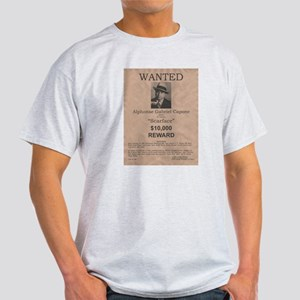 Al Capone Wanted Poster Light T-Shirt