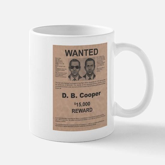 DB Cooper Wanted Poster Mug