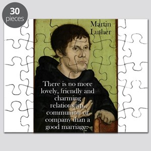 There Is No More Lovely - Martin Luther Puzzle