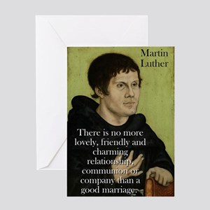 There Is No More Lovely - Martin Luther Greeting C