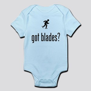 Roller Blading Infant Bodysuit