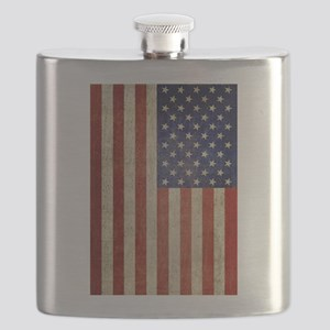 Vintage USA Flag Flask