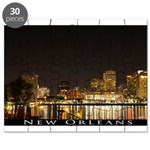 New Orleans Skyline Puzzle