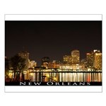 New Orleans Skyline Small Poster