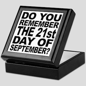 Do You Remember 921 Keepsake Box