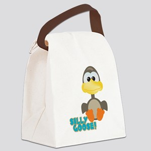 silly goose Canvas Lunch Bag