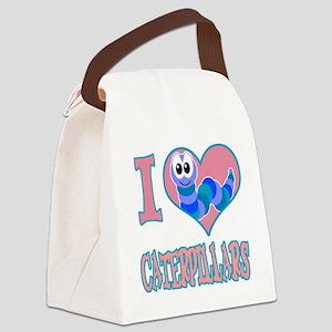 love caterpillars Canvas Lunch Bag