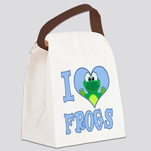love frogs Canvas Lunch Bag