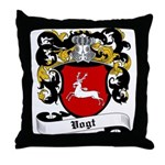 Vogt Coat of Arms Throw Pillow