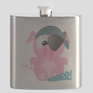 piggy pirate Flask