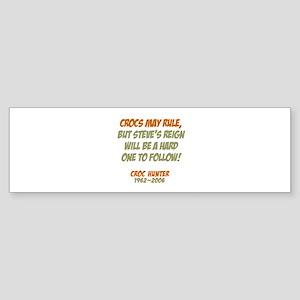 Crocs Rule Crikey Bumper Sticker