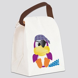 pirate ducky Canvas Lunch Bag