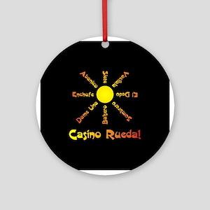 Casino Rueda Salsa Ornament (Round)