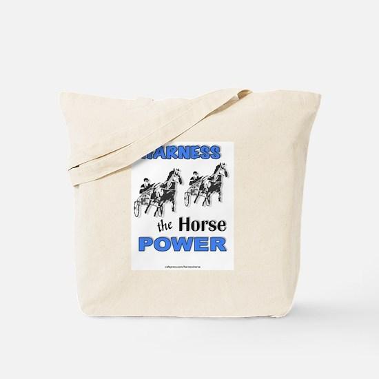 Horse Power - Blue Tote Bag