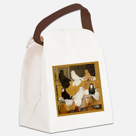 English Trumpeter Champions Canvas Lunch Bag