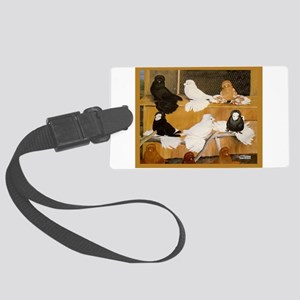 English Trumpeter Champions Large Luggage Tag