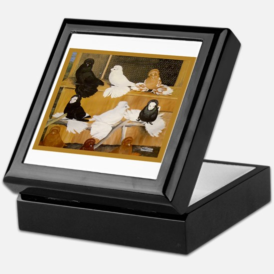 English Trumpeter Champions Keepsake Box