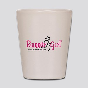 RunnerGirl Shot Glass
