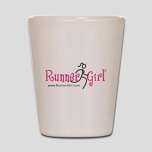 RunnerGirl Shot Glass