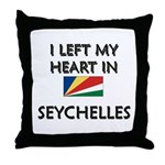 Flag of Seychelles Throw Pillow