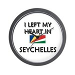 Flag of Seychelles Wall Clock