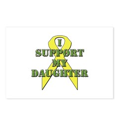 I Support My Daughter Postcards (Package of 8)