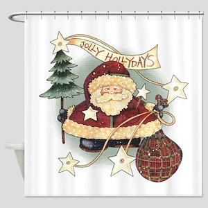 Jolly Holidays 2556x2592 Shower Curtain