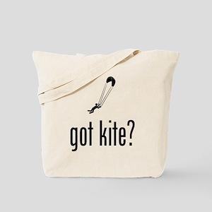 Kite Jumping Tote Bag