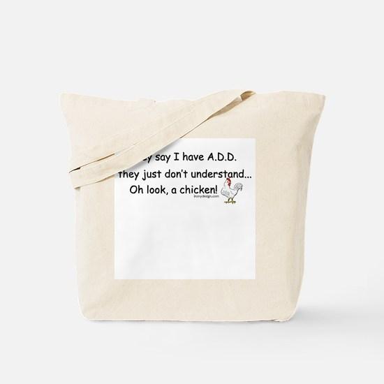ADD Chicken Tote Bag