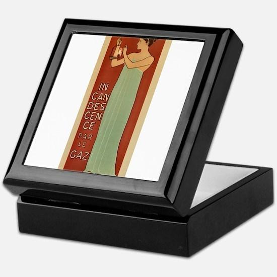 ART NOUVEAU Keepsake Box