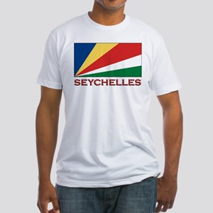 Seychelles Flag Gear Fitted T-Shirt