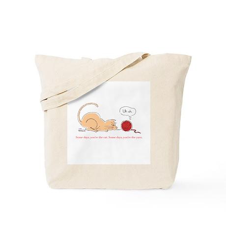 Menacing Kitty Tote Bag