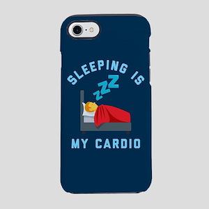 Sleeping is My Cardio iPhone 7 Tough Case