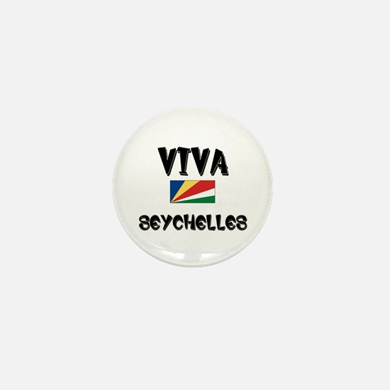 Viva Seychelles Mini Button