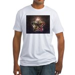 Star Lights Fitted T-Shirt