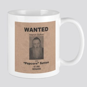Popcorn Sutton Wanted Poster Mug