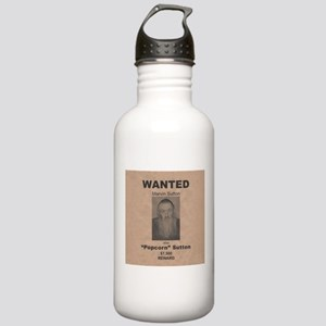Popcorn Sutton Wanted Poster Stainless Water Bottl