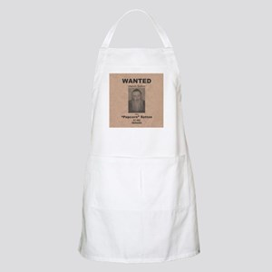 Popcorn Sutton Wanted Poster Apron